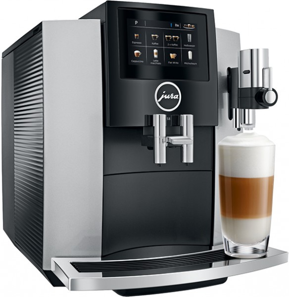 Jura S8 Moonlight Silver (Modell 2018) Kaffeevollautomat one touch
