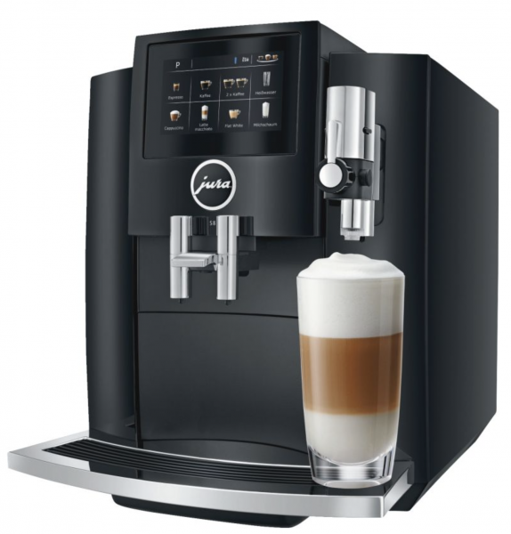 JURA S8 (EA) Piano Black Kaffeevollautomat