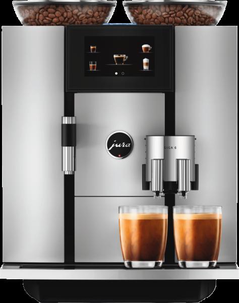 JURA GIGA 6 Aluminium Kaffeevolautomat 15310