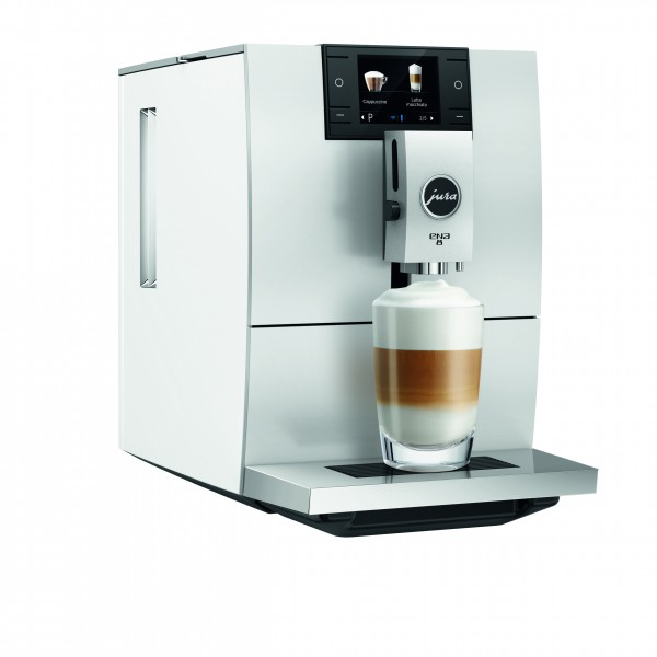 Jura ENA 8 Nordic White Kaffeevollautomat