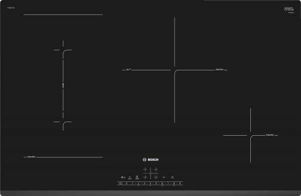 Bosch PVS831FC5E Serie | 6, Induktionskochfeld, 80 cm Exclusiv