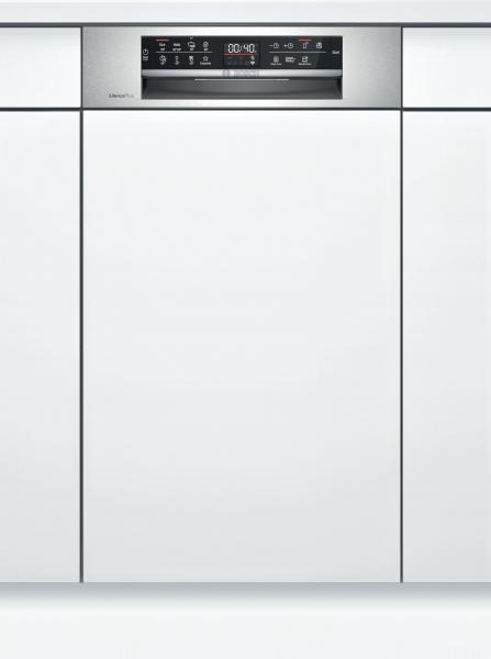 Bosch SPI6EMS23E Serie | 6, Teilintegrierter Geschirrspüler, 45 cm, Edelstahl