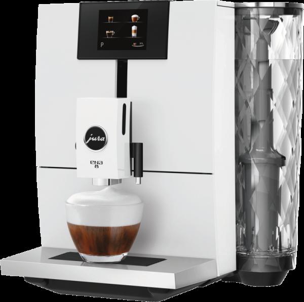 JURA ENA 8 Full Nordic white touch Kaffeevollautomat 15332