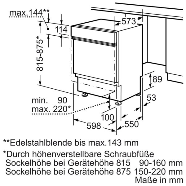 Siemens SN536S01ID Spülmaschine integriert IQ300 extraKLASSE