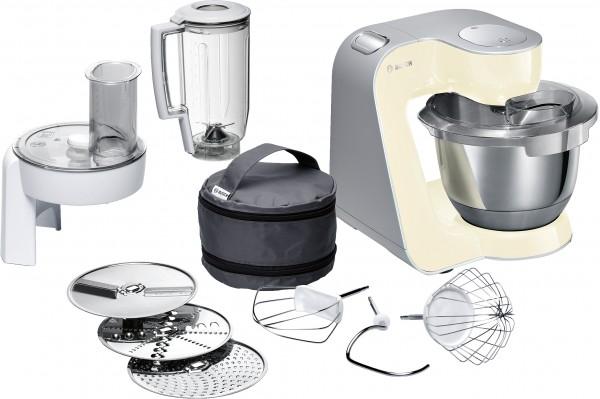 Bosch MUM58920 Küchenmaschine, MUM5, 1000 W, Beige