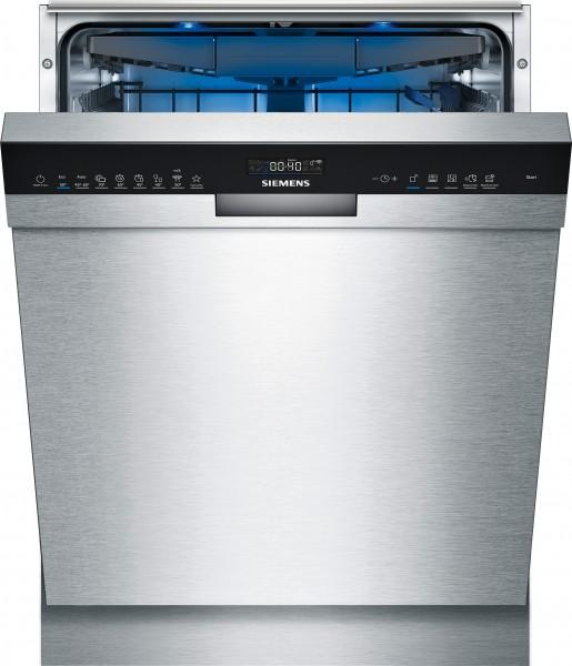 Siemens SN45ES57CE iQ500, Unterbau-Geschirrspüler, 60 cm, Edelstahl