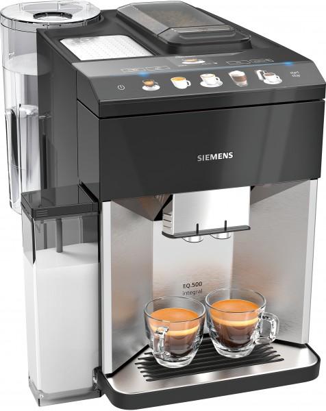 Siemens TQ507D03 Kaffeevollautomat, EQ.500 integral, Edelstahl