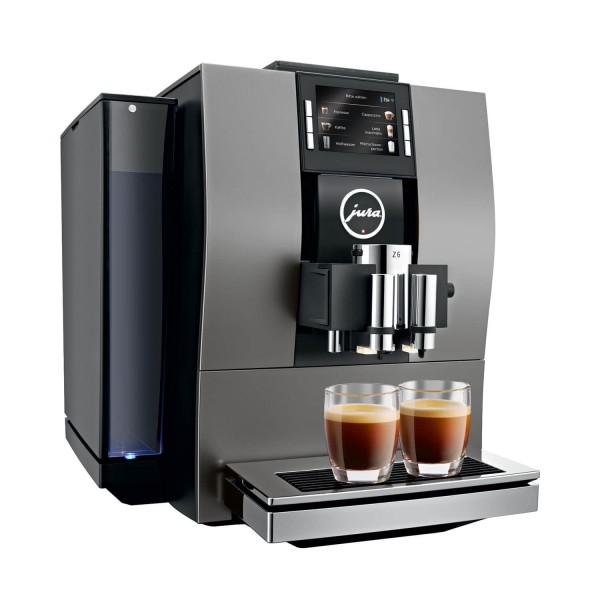 Jura Z6 Dark Inox Kaffeevollautomat PEP