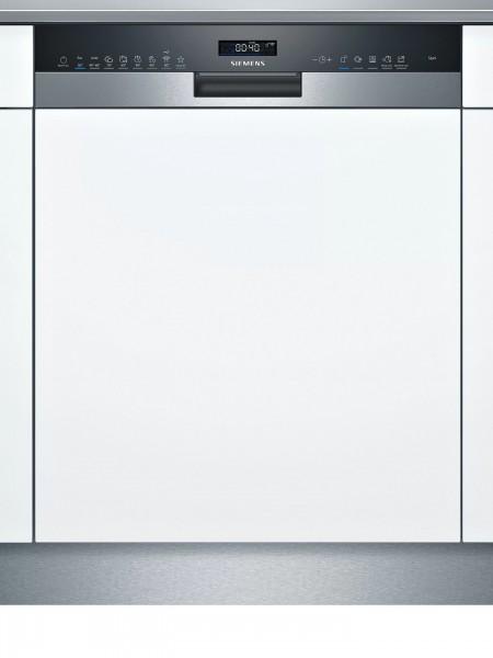 Siemens SN55ZS49CE iQ500, Teilintegrierter Geschirrspüler, 60 cm, Edelstahl