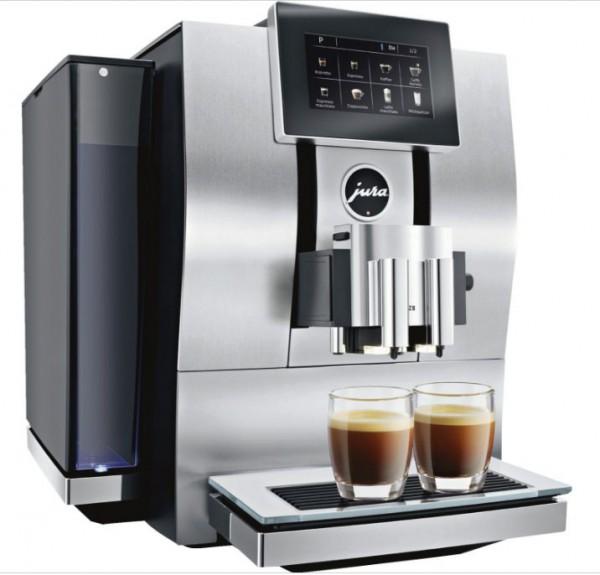 Jura Z8 Aluminium Kaffeevollautomat One-Touch-Lungo