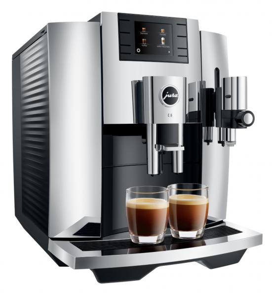 JURA E8 (EB) Chrom Kaffee-Vollautomat 15363