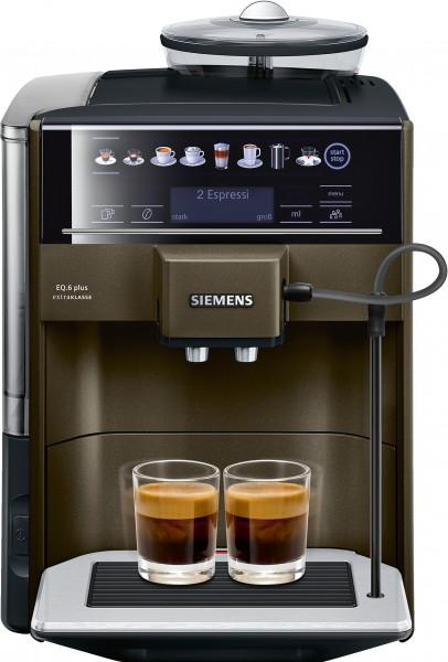 Siemens TE653F08DE Kaffeevollautomat EQ.6 plus extraKlasse ristretto