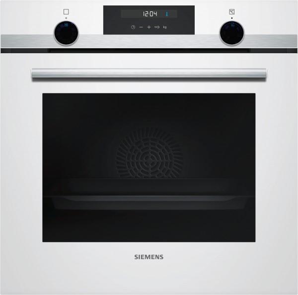 Siemens HB557GEW0W iQ500, Einbau-Backofen, Weiß
