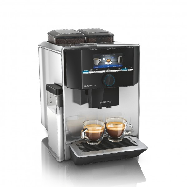 Siemens TI9575X7DE Kaffeevollautomat, EQ.9 plus connect s700, Silber