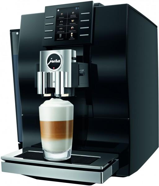 JURA Z6 ( Modell 2018 ) Diamond Black Kaffeevollautomat