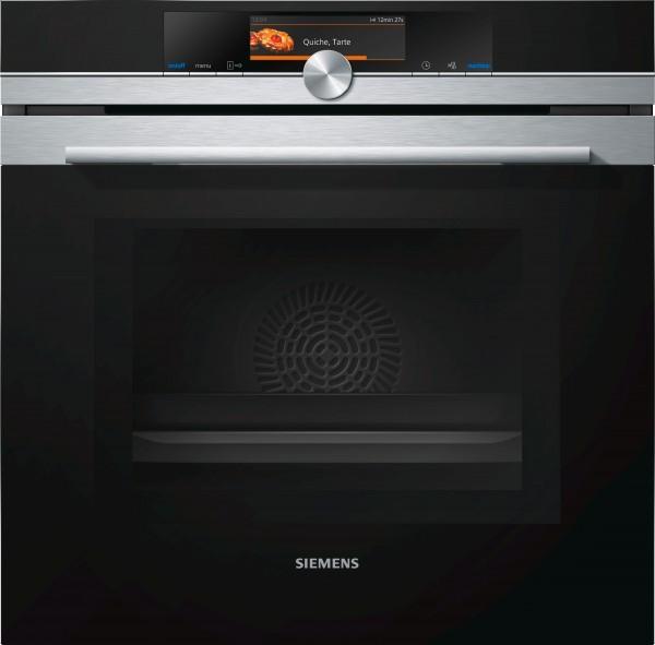 Siemens HM678G4S1 Einbau Backofen mit Mikrowelle Edelstahl