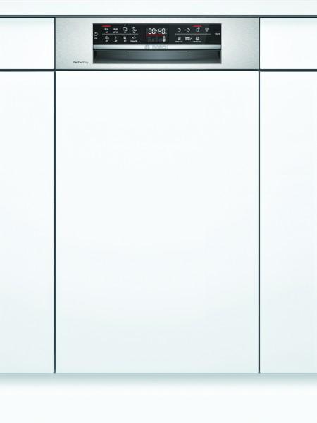 Bosch SPI6ZMS35E Serie | 6, Teilintegrierter Geschirrspüler, 45 cm, Edelstahl