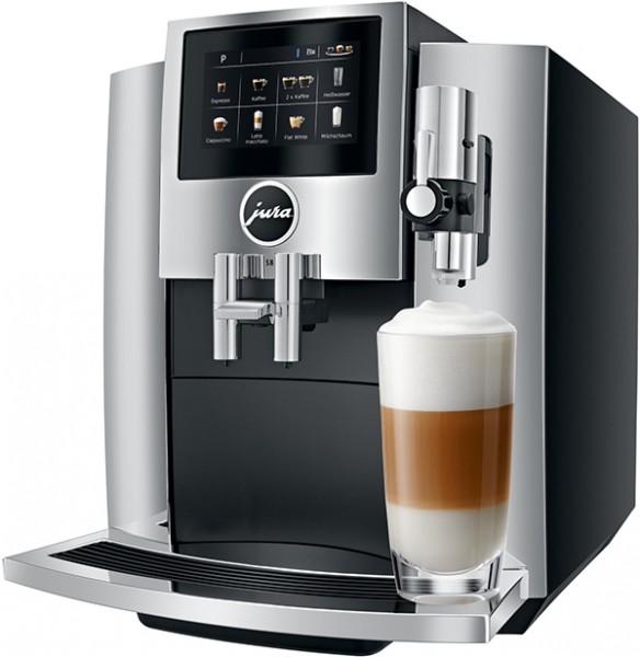 JURA S8 Chrom 15380 (EA) Kaffee-Vollautomat