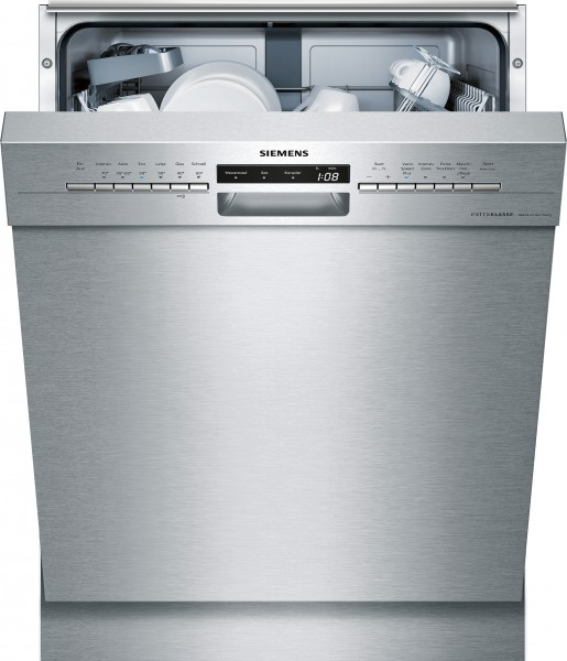 Siemens SN436S02ID Unterbauspülmaschine Edelstahl speedMatic extraKLASSE