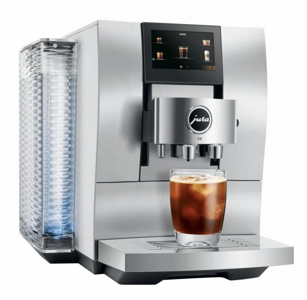 JURA Z10 (EA) Aluminium-Weiss Kaffeevollautomat 15348
