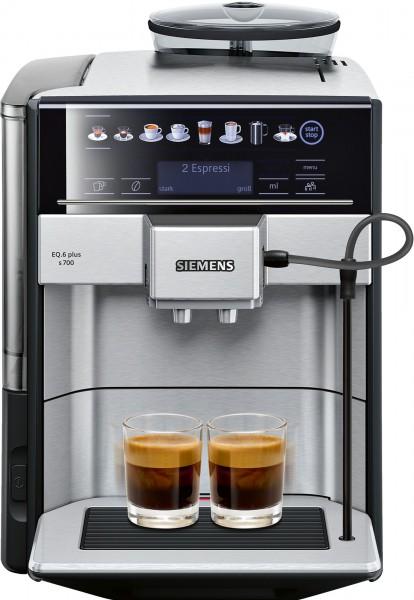 Siemens TE657503DE Kaffeevollautomat EQ.6 plus s700 Edelstahl