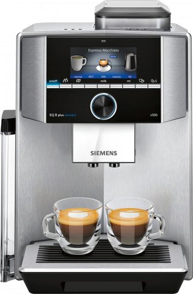 Siemens TI9555X1DE Kaffeevollautomat EQ.9 plus connect s500 Edelstahl