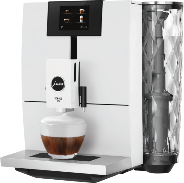 JURA ENA 8 Full Nordic white touch Kaffeevollautomat