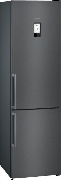 Siemens KG39NHXEP Q500, Stand Kühl-Gefrier-Kombination blackSteel