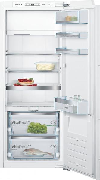 Bosch KIF52AFF0 Serie | 8, Einbau-Kühlschrank mit Gefrierfach, 140 cm