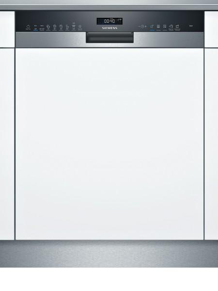 Siemens SN55ES57CE iQ500, Teilintegrierter Geschirrspüler, Edelstahl