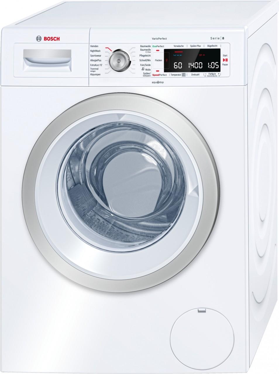 Bosch WAW28570 Waschvollautomat Serie 8 Testsieger 10/2017