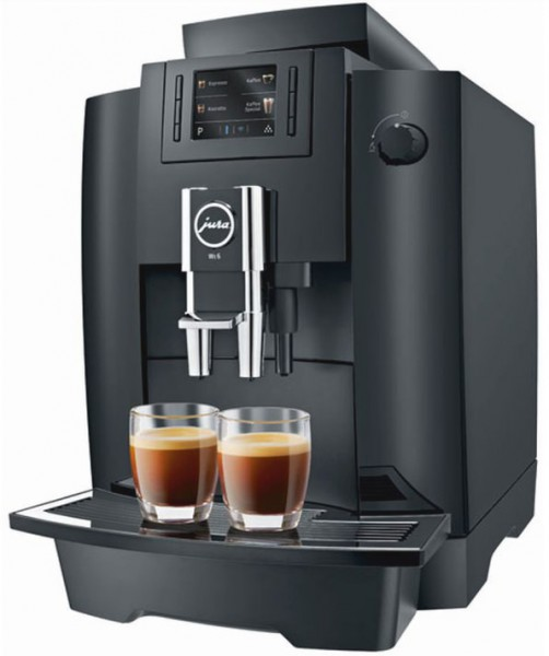 Jura WE6 black Kaffeevollautomat Kaffeeklassiker für den Arbeitsplatz