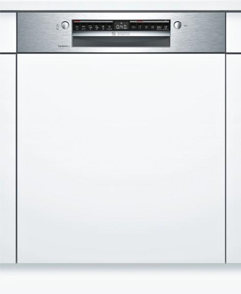 Bosch SMI6ZCS00E Serie | 6, Teilintegrierter Geschirrspüler, Edelstahl