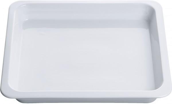 Neff Z1685X0 Porzellan-Behälter-GN2/3-ungeloch