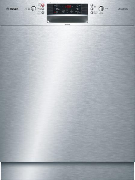 Bosch SMU46IS02D Unterbauspüler Edelstahl SuperSilence Exclusiv