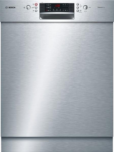 Bosch SMU45KS02E Serie   4, Unterbau-Geschirrspüler, 60 cm, Edelstahl