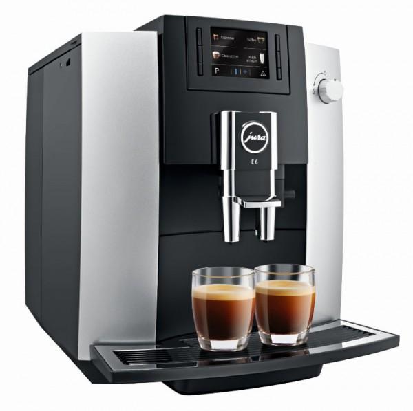 Jura E6 PLatin (EB) Kaffeevollautomat E6 PLatin 15376