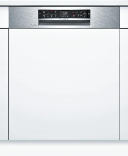 Bosch SMI68TS06E Serie | 6, Teilintegrierter Geschirrspüler, 60 cm, Edelstahl