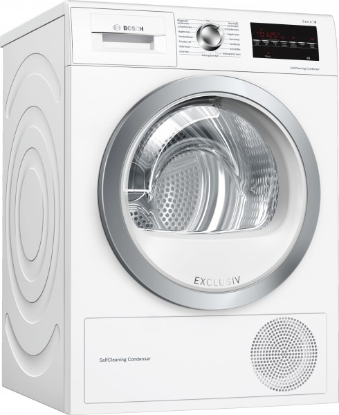 Bosch WTW85492 Serie | 6, Wärmepumpen-Trockner, 8 kg Exclusiv