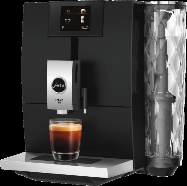 JURA ENA 8 Full Metropolitan Black Kaffeevollautomat 15339