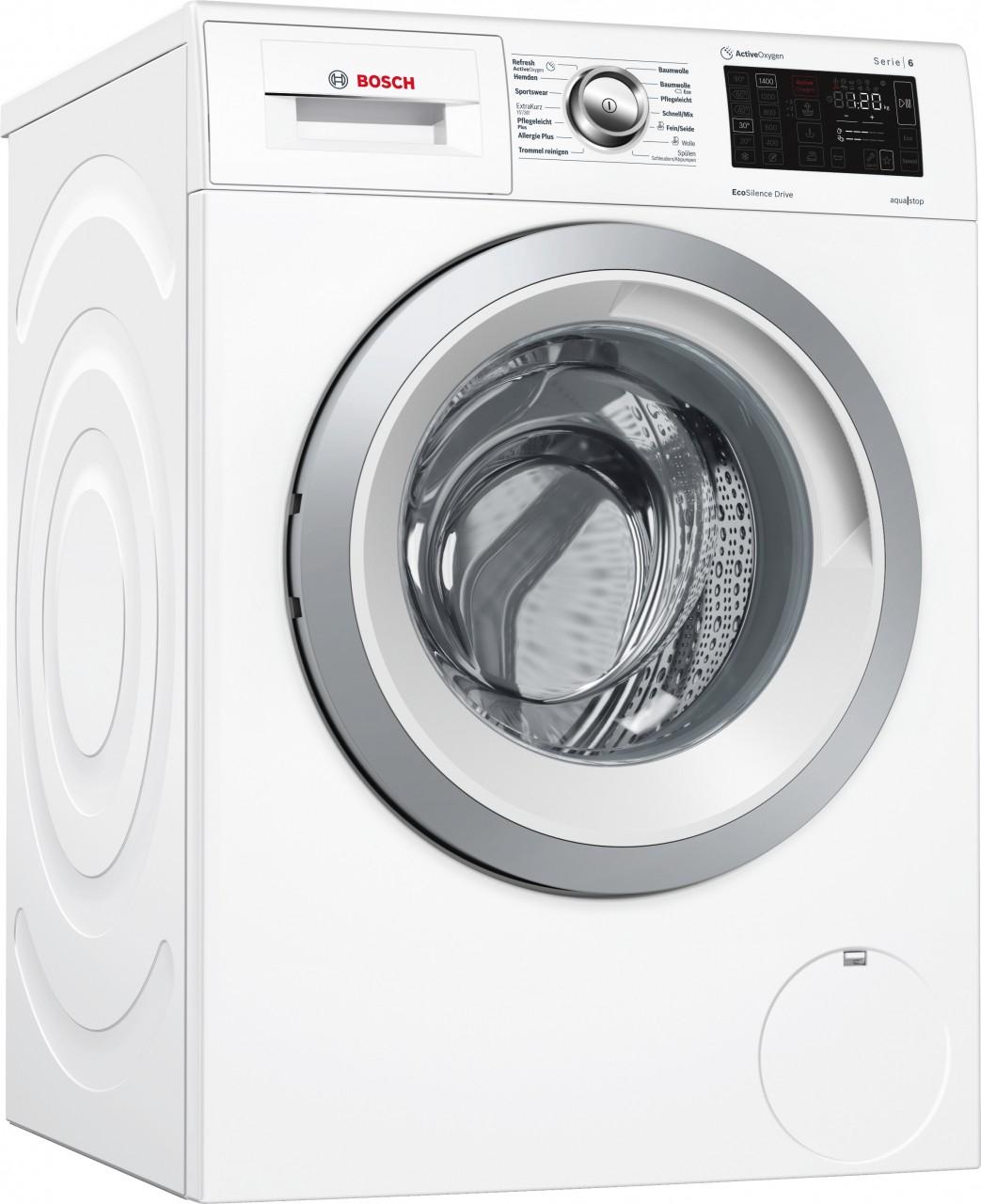 Bosch WAT287F0 Serie 6, Waschmaschine, Frontlader, 8 kg