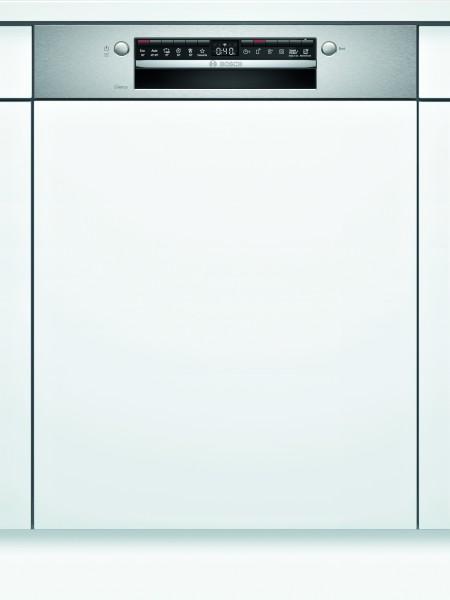 Bosch SMI4HVS31E Serie | 4, Teilintegrierter Geschirrspüler, 60 cm, Edelstahl