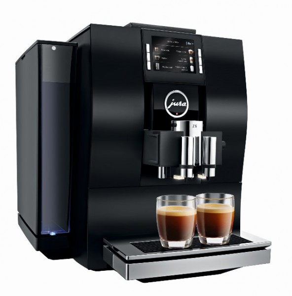 Jura z6 Aluminium/schwarz Kaffeevollautomat P.E.P.©