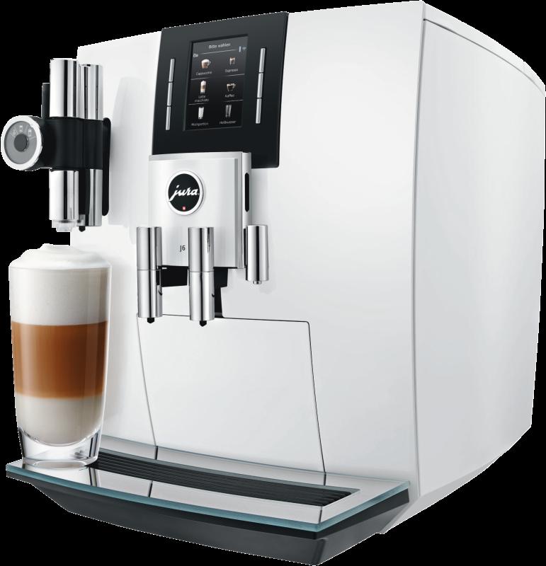 JURA J6 piano white (Modell 2018) Kaffeevollautomat