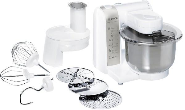 Bosch MUM48W1 Küchenmaschine weiß EXCLUSIV | Kleine Hausgeräte ...