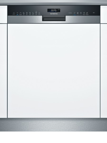 Siemens SN55TS00CE iQ500, Teilintegrierter Geschirrspüler, 60 cm, Edelstahl
