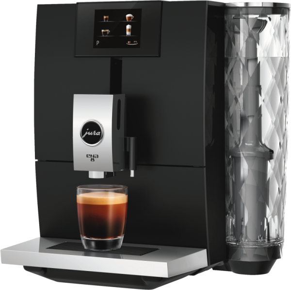 JURA ENA 8 touch Full Metropolitan Black Kaffeevollautomat