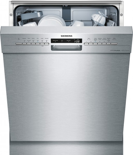 Siemens SN436S01PD Unterbau-Geschirrspüler IQ300 Edelstahl extraKLASSE