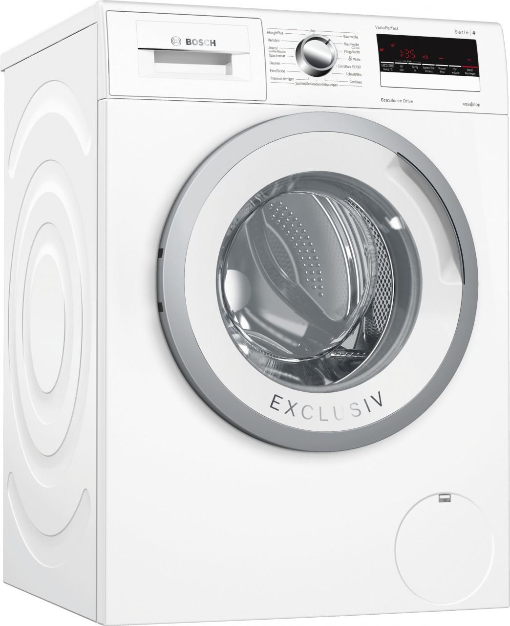 Bosch WAN28296 Waschvollautomat Serie 4 Exclusiv