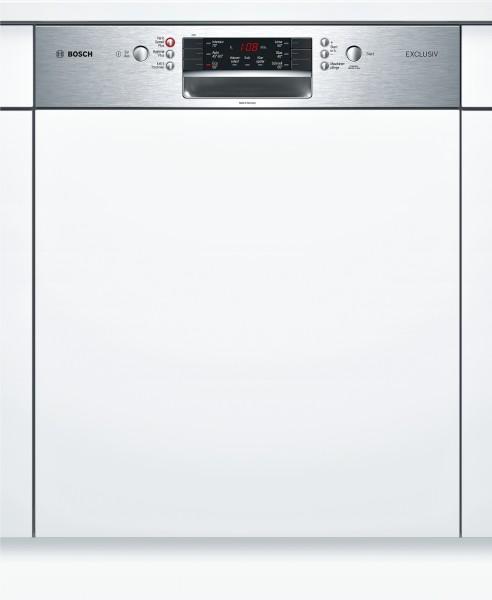 Bosch SMI46PS00D Spülmaschine integriert SuperSilence Edelstahl Exclusiv